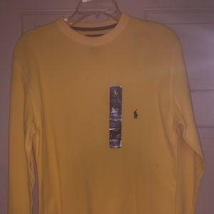 Yellow Long Sleeve Ralph Lauren